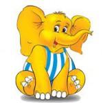 Уперте слоненя | Казочка на добраніч